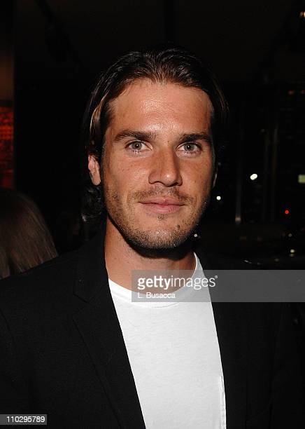 Tennis player Tommy Haas attend party hosted by Audi and USB to celebrate partnership with Best Buddies on August 23 2007 in New York City