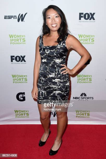 Tennis player Vania King attends The Women's Sports Foundation's 38th Annual Salute To Women in Sports Awards Gala on October 18 2017 in New York City