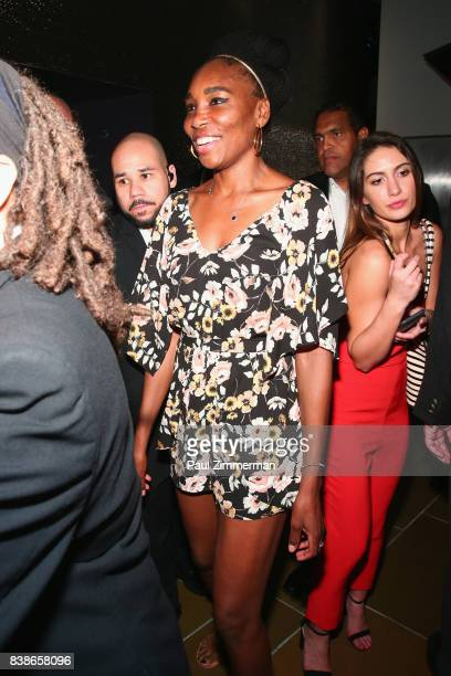 Tennis player Venus Williams attends Citi Taste Of Tennis at W New York on August 24 2017 in New York City
