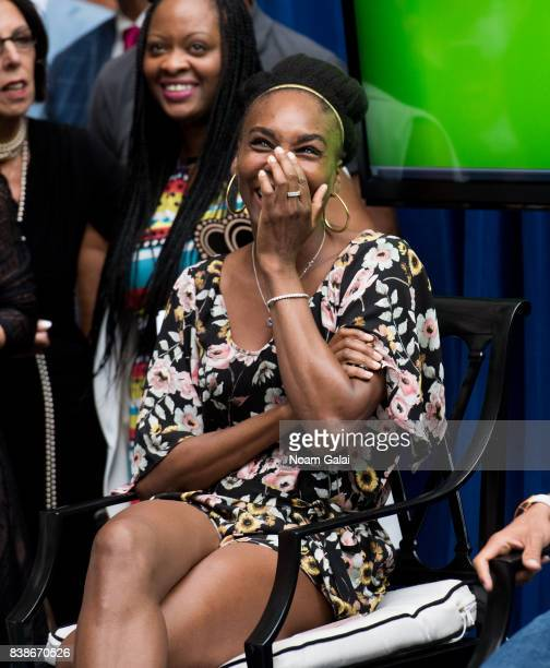Tennis player Venus Williams attends the 2017 Lotte New York Palace Invitational at Lotte New York Palace on August 24 2017 in New York City