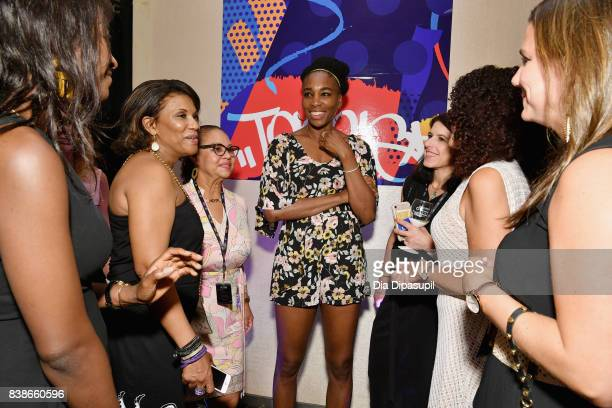 Tennis player Venus Williams attends the Citi VIP Lounge at Taste Of Tennis at W New York on August 24 2017 in New York City