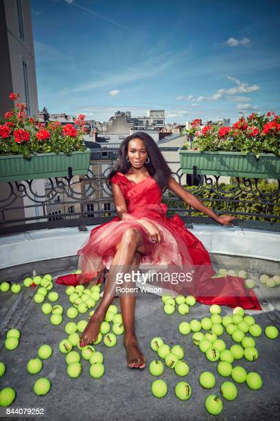 Tennis player Venus Williams is photographed for the Times on May 23 2017 in Paris France