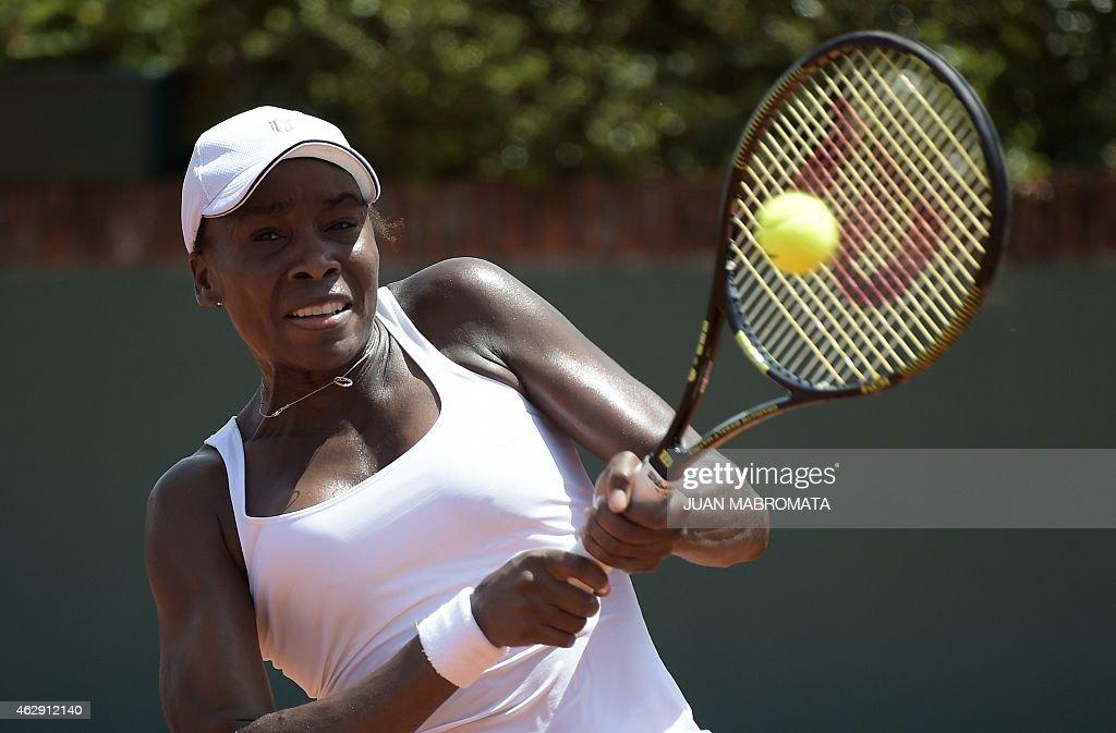 TENNIS-FEDCUP-ARG-USA : News Photo