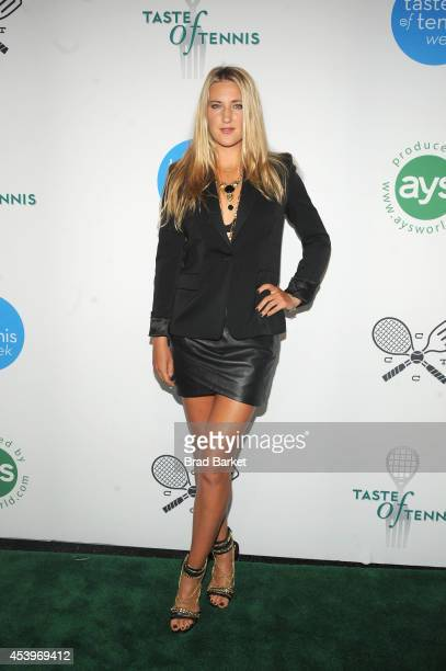 Tennis player Victoria Azarenka attends Taste Of Tennis Week Taste Of Tennis Gala at the W New York on August 21 2014 in New York City