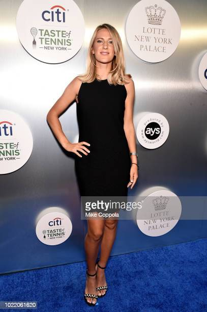 Tennis player Victoria Azarenka attends the Citi Taste Of Tennis gala on August 23 2018 in New York City