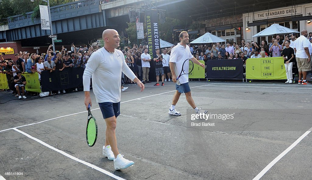 "Nike's ""NYC Street Tennis"" Event : ニュース写真"