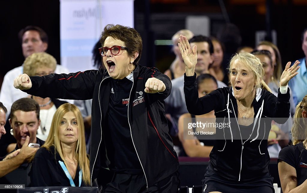 Elton John And Billie Jean King Host Mylan World TeamTennis Smash Hits Charity Event