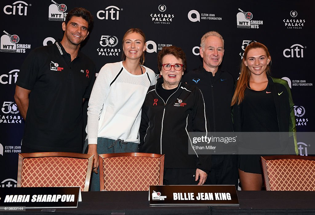 Sir Elton John And Billie Jean King Host World TeamTennis Smash Hits Charity Event