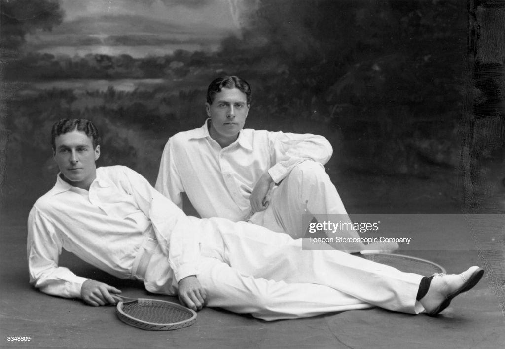 Tennis Brothers : News Photo