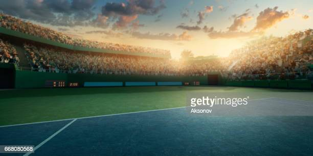 tennis: playing court - tennis stock pictures, royalty-free photos & images