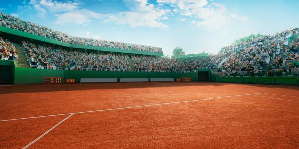 Tennis: Playing court 668080570