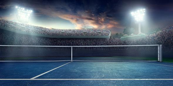 Tennis: Playing court 671277978