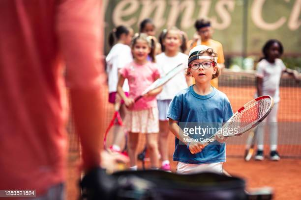 tennis practice - serving sport stock pictures, royalty-free photos & images