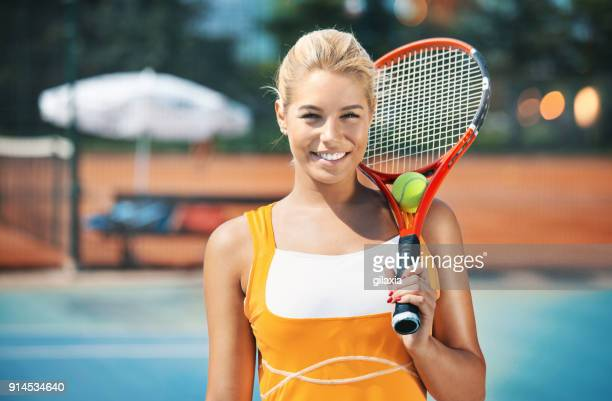 tennis practice. - tennis player stock pictures, royalty-free photos & images