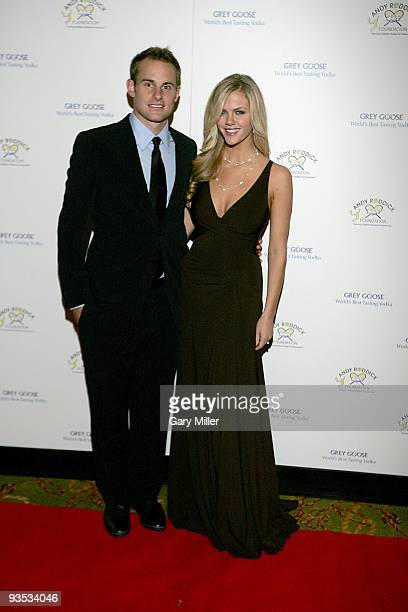 Tennis pro Andy Roddick and his wife model Brooklyn Decker host the 4th Annual Andy Roddick Foundation gala at the Hilton Austin on November 30 2009...