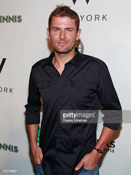 Tennis pro Mardy Fish attends the 12th Annual BNP Paribas Taste of Tennis at the W New York Hotel on August 25 2011 in New York City