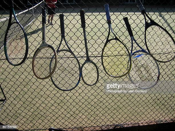 tennis rackets of choice