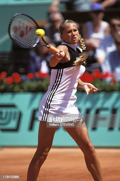 Tennis Roland Garros On May 1997 In ParisFrance