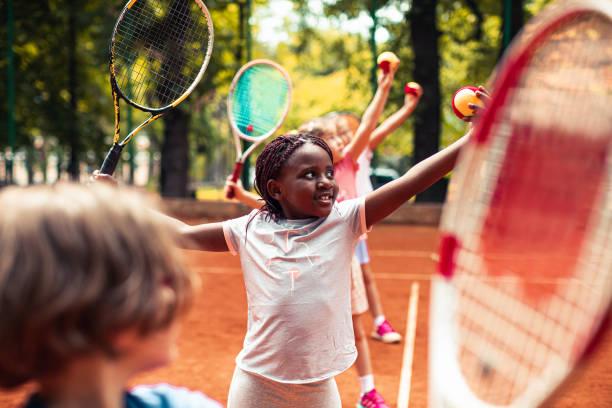 Tennis Serving Practice