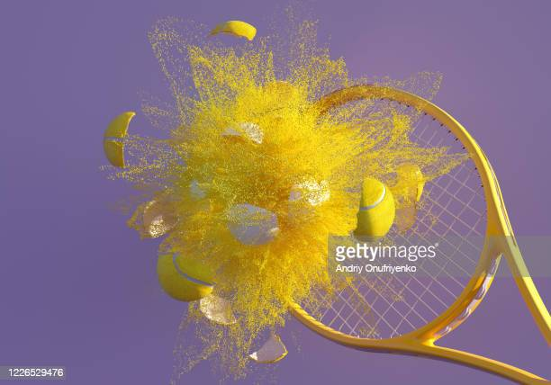 tennis splash - drive ball sports stock pictures, royalty-free photos & images
