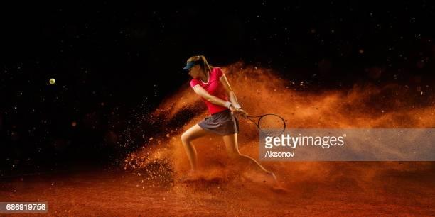 アクション テニス: スポーツウーマン