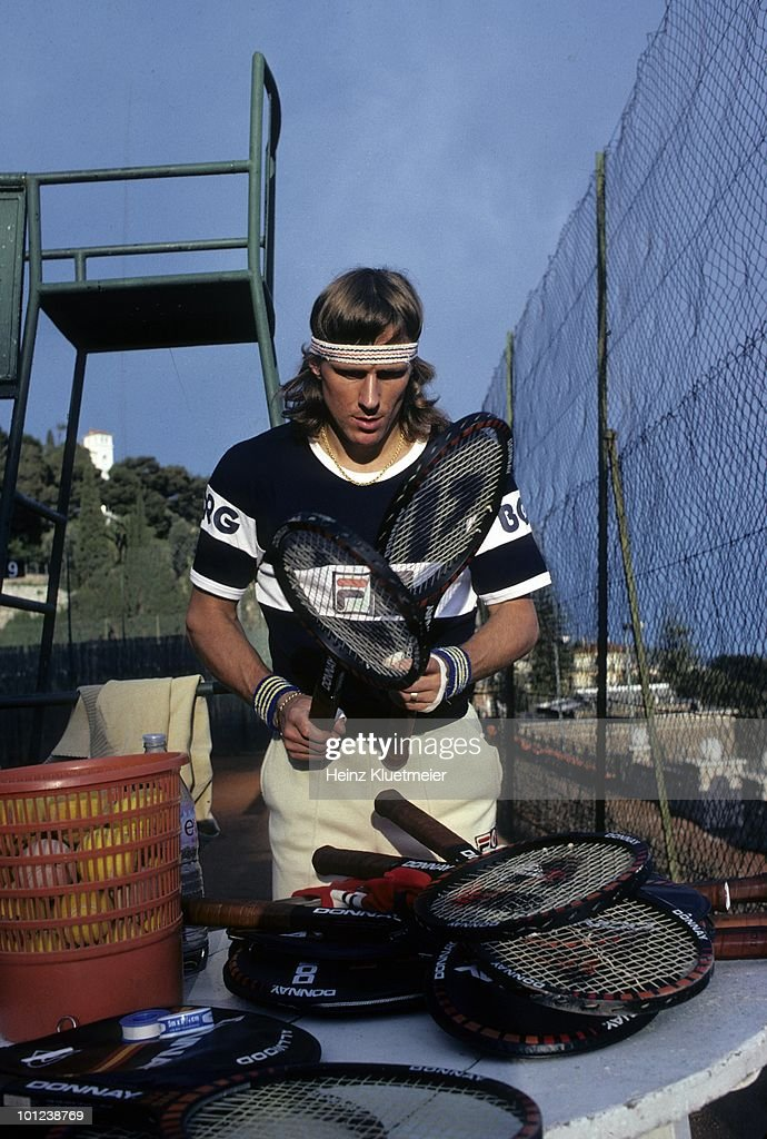 Sweden Bjorn Borg during photo shoot. Monte Carlo, Monaco 3/1/1980--3/31/1980