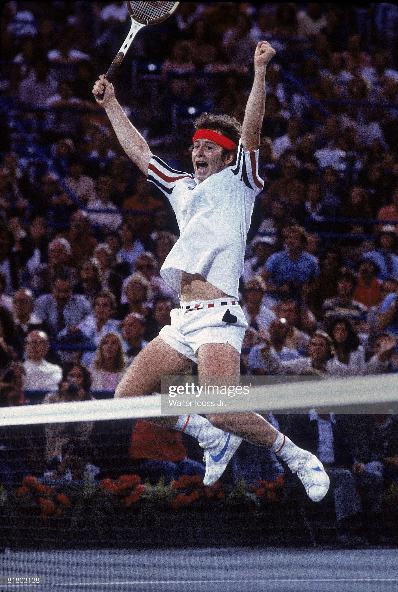 John McEnroe, 1979 US Open : News Photo