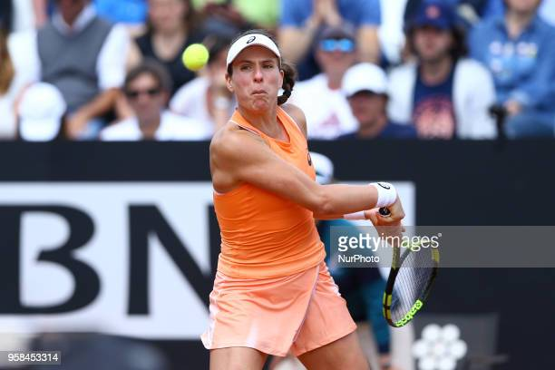 Tennis WTA Internazionali d'Italia BNL First Round Johanna Konta at Foro Italico in Rome Italy on May 14 2018