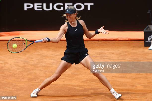 Tennis WTA Internazionali d'Italia BNL First Round Victoria Azarenka at Foro Italico in Rome Italy on May 14 2018