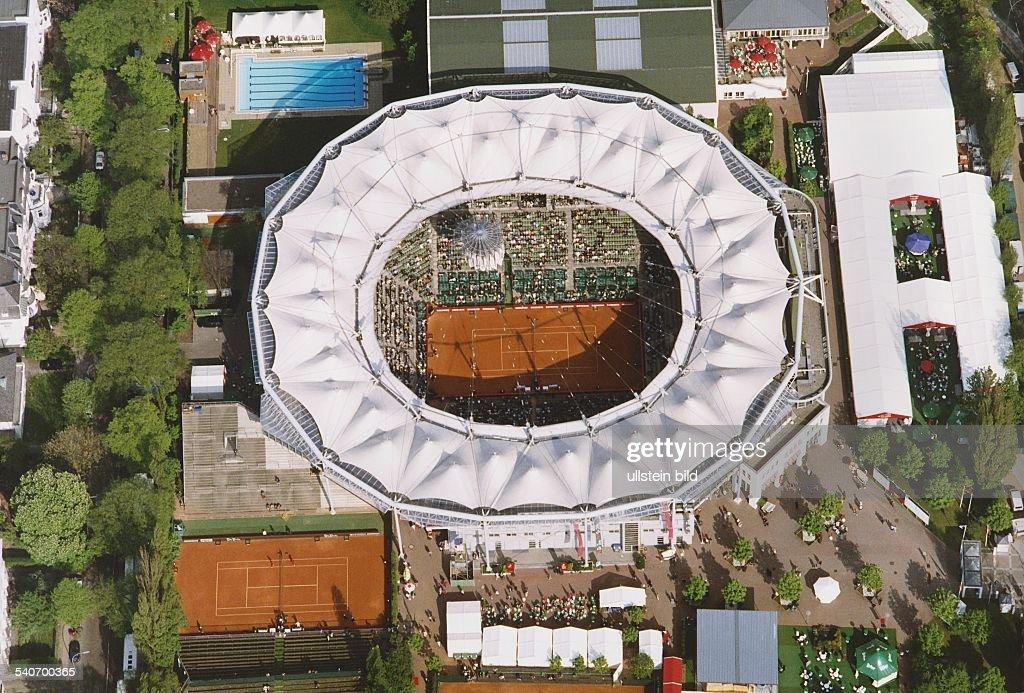 Centre Court mit Zeltdach : News Photo