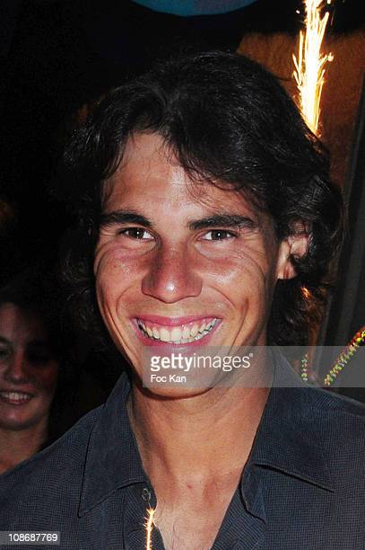 Tennisman Rafael Nadal attends the Rafael Nadal's Roland Garros Party at the Arc Club on June 6 2010 in Paris France