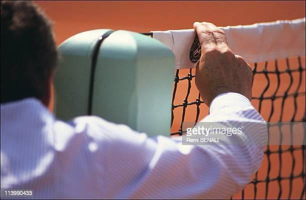 Tennis/Roland Garros In Paris, France On May 30, 1991-Corde Judge.