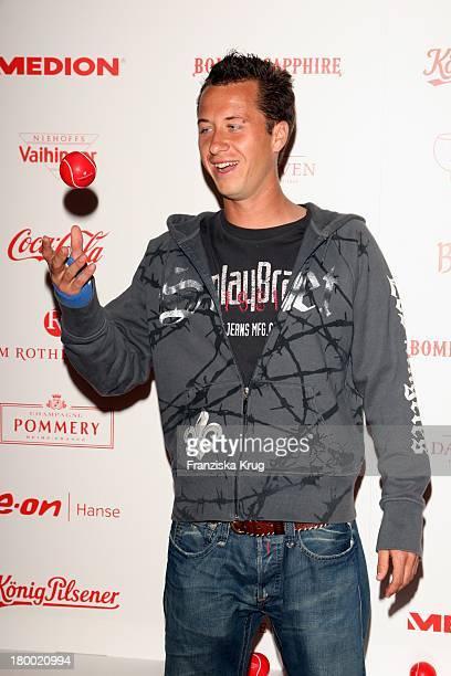 Tennisspieler Philipp Kohlschreiber Bei Der Atp Player'S Night Im Copper House In Hamburg Am 140508