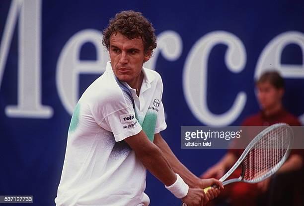 1965 Tennisspieler S in Aktion 1990