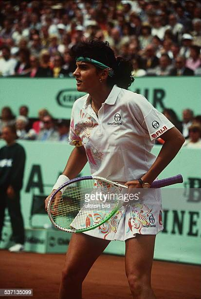 Tennisspielerin, Argentinien, im Spiel gegen Steffi Graf beim Turnier, an der Hundekehle in Berlin , -