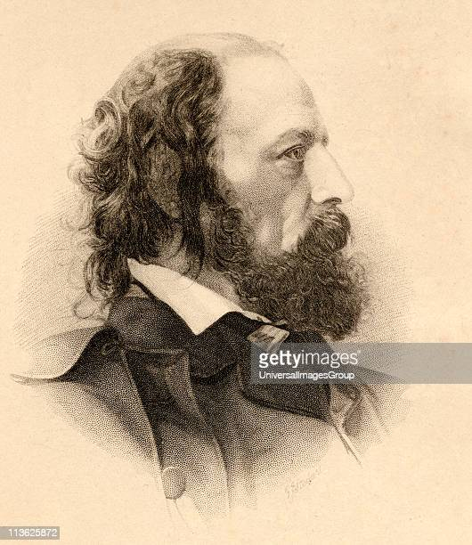Tennyson Alfred Tennyson 1st Baron byname Alfred Lord Tennyson 18091892 English poet laureat Engraved by GJStodart from a photograph by JMayall