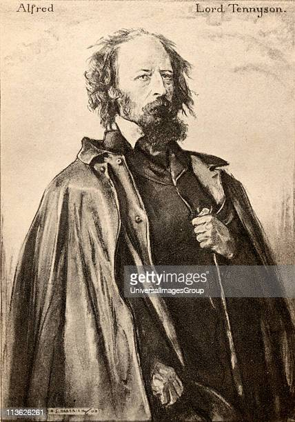 Tennyson Alfred Tennyson, 1st Baron, byname Alfred, Lord Tennyson, 1809-1892. English poet laureate. From an illustration by A.S. Hartrick.