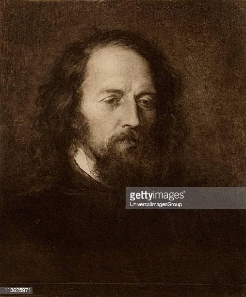 "Tennyson Alfred Tennyson, 1st Baron,byname Alfred, Lord Tennyson, 1809-1892. English poet laureate.From the book ""Tennyson a memoir"" by his son..."