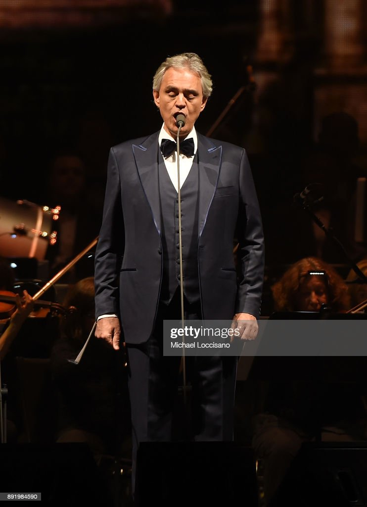 Andrea Bocelli In Concert - New York City