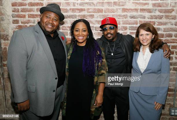 Tenor Issachah Savage singer Lalah Hathaway singer songwriter and producer Anthony Hamilton and Nazaneen Grant MD Associate Professor of...