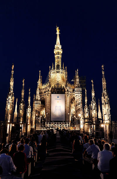 Jose Carreras Performs At The Terrazze Del Duomo Photos and Images ...