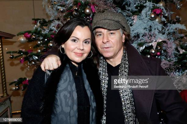 Tenor Roberto Alagna and his wife Soprano Aleksandra Kurzak attend Cendrillon choregraphing by Rudolf Noureev during Reve d'Enfant Charity Gala at...