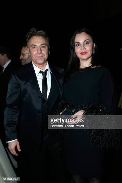 Tenor Roberto Alagna and Soprano Alexandra Kurzak attend the AROP Charity Gala with the representation of Carmen at Opera Bastille on March 10 2017...