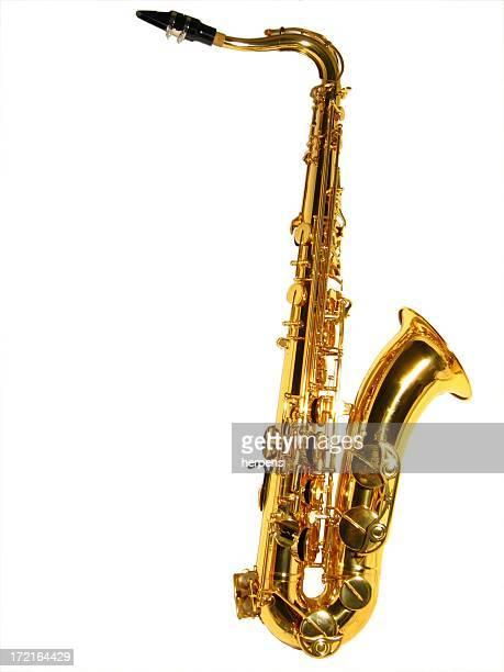 Tenor sax isolated