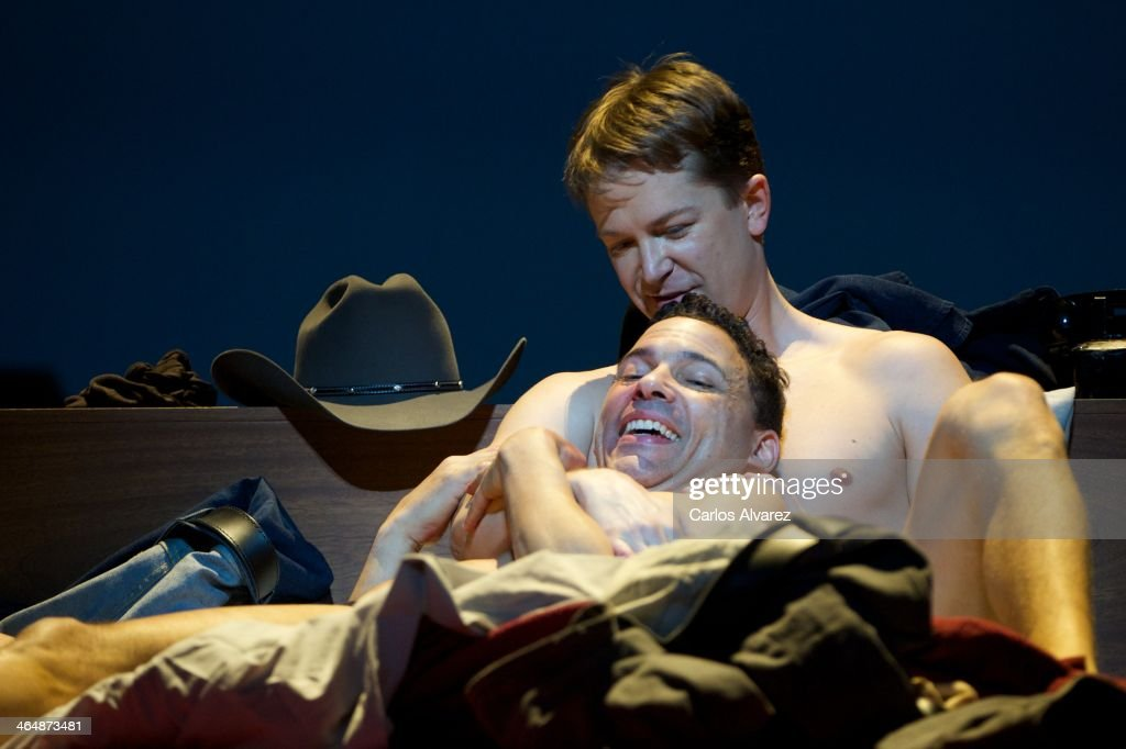 'Brokeback Mountain' Opera at Royal Theatre in Madrid : News Photo