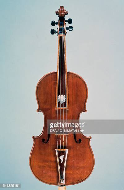 Tenor viola made by Antonio Stradivari Italy 17th century Florence Museo Strumenti Musicali Conservatorio Cherubini