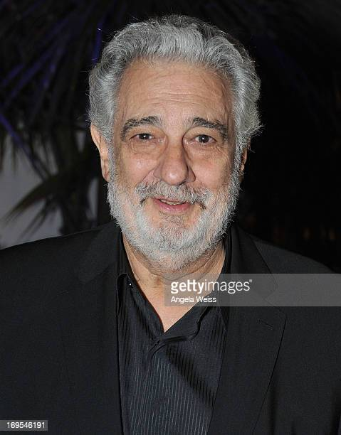 Tenor/conductor Placido Domingo attends an Unforgettable Evening benefitting The Alzheimer's Association hosted by Grey Goose at a Private Residence...