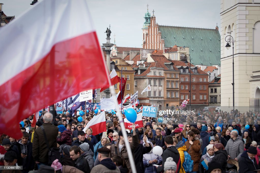 POL: Tens Of Thousands Take To The Streets In Polish Anti-abortion March