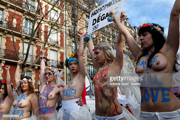 Tens of thousands of people took to the streets of the French capital on Sunday, to rally in support of a government-proposed bill that would...