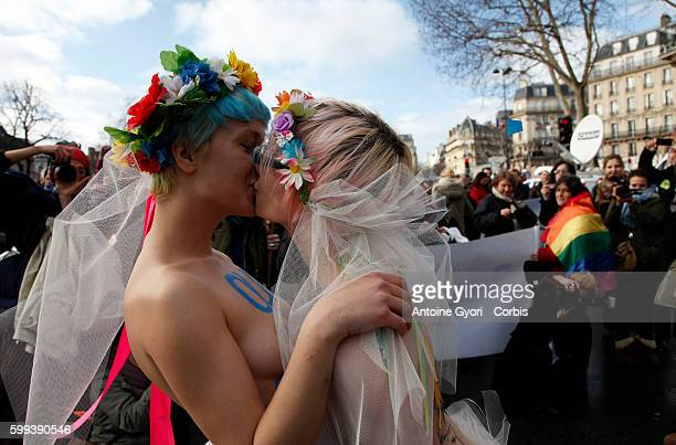 Tens of thousands of people took to the streets of the French capital on Sunday to rally in support of a governmentproposed bill that would legalize...